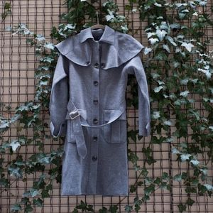 Burberry Blue Label Belted Coat